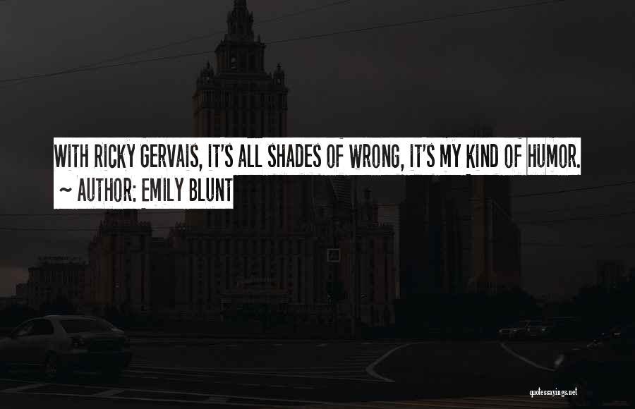 Emily Blunt Quotes 699136