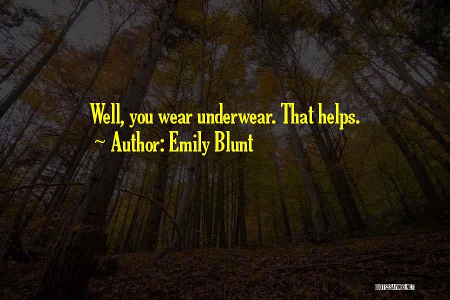 Emily Blunt Quotes 918527