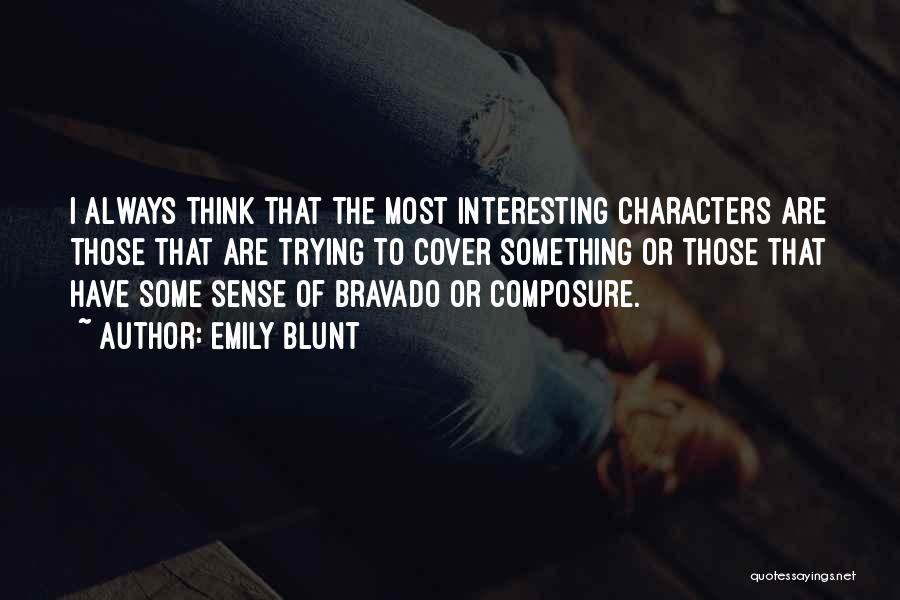 Emily Blunt Quotes 967392