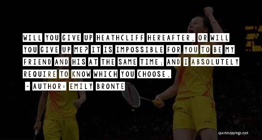 Emily Bronte Quotes 514119