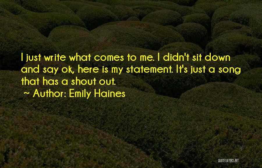Emily Haines Quotes 2024578