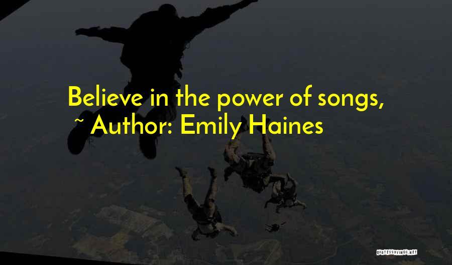 Emily Haines Quotes 633364