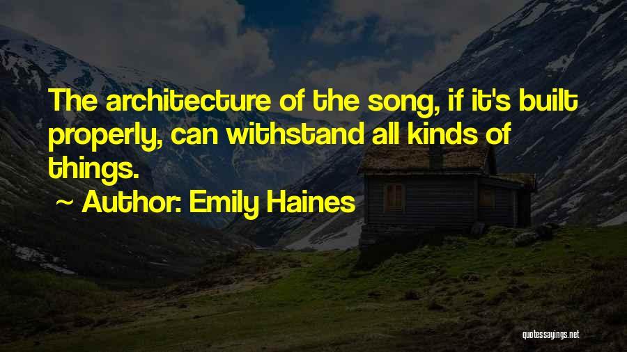Emily Haines Quotes 972076