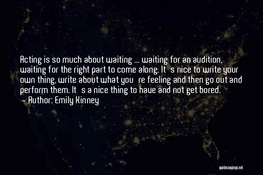Emily Kinney Quotes 297094