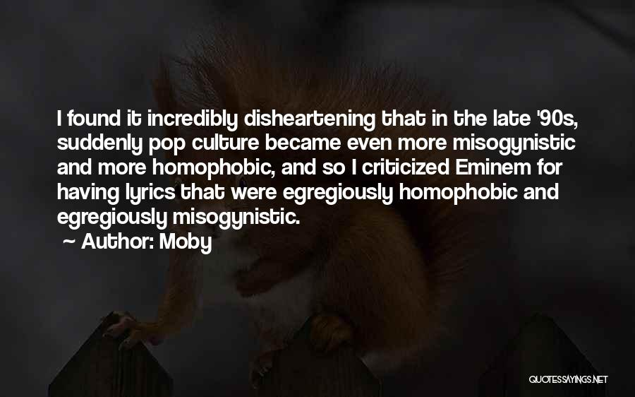 Eminem Lyrics Quotes By Moby