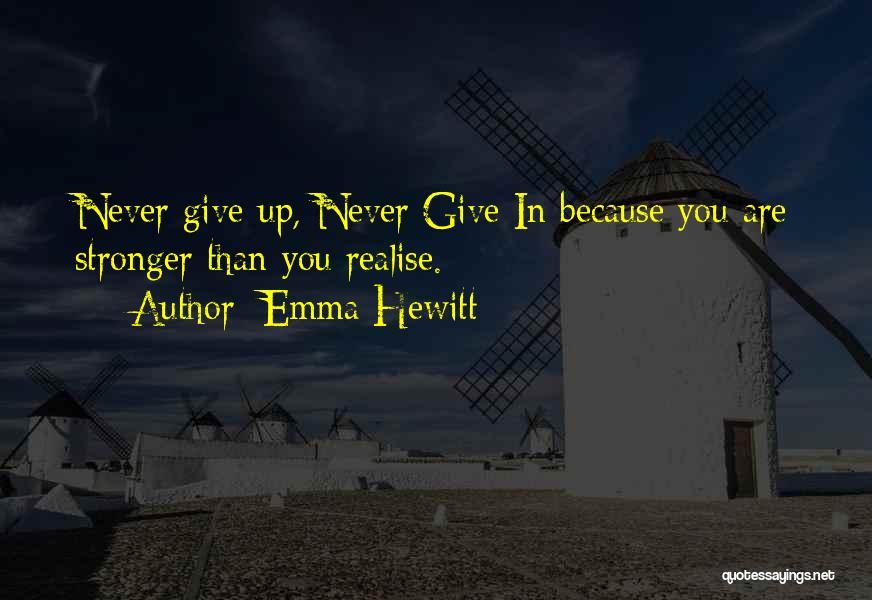Emma Hewitt Quotes 1858977