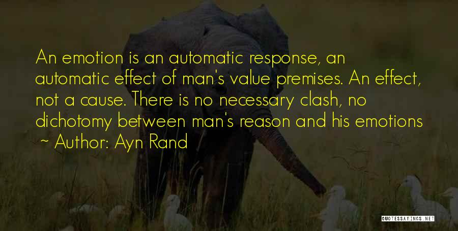 Emotion Over Reason Quotes By Ayn Rand