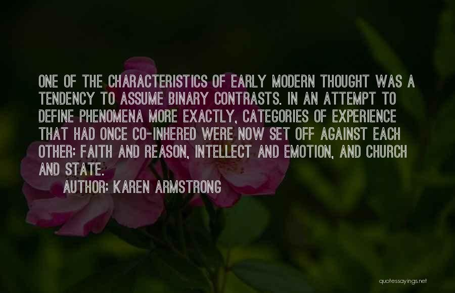Emotion Over Reason Quotes By Karen Armstrong