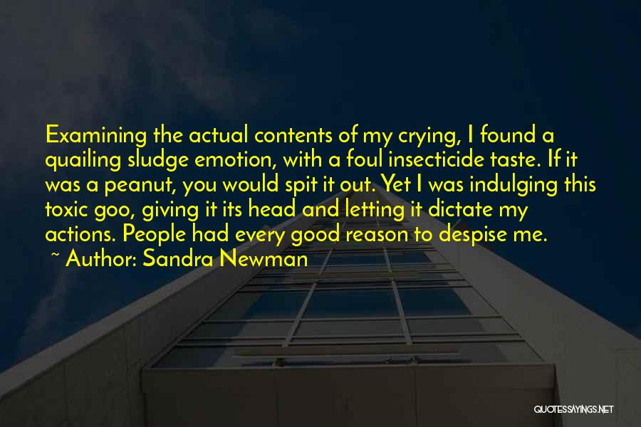 Emotion Over Reason Quotes By Sandra Newman