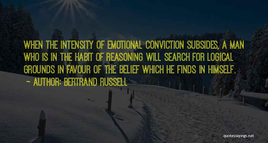 Emotional Best Man Quotes By Bertrand Russell