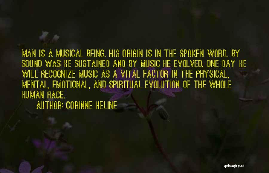 Emotional Best Man Quotes By Corinne Heline