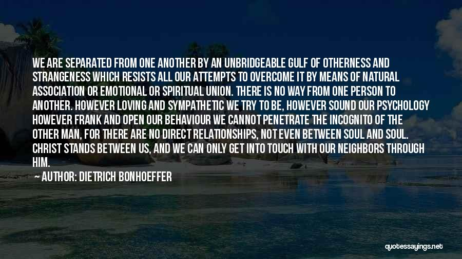 Emotional Best Man Quotes By Dietrich Bonhoeffer