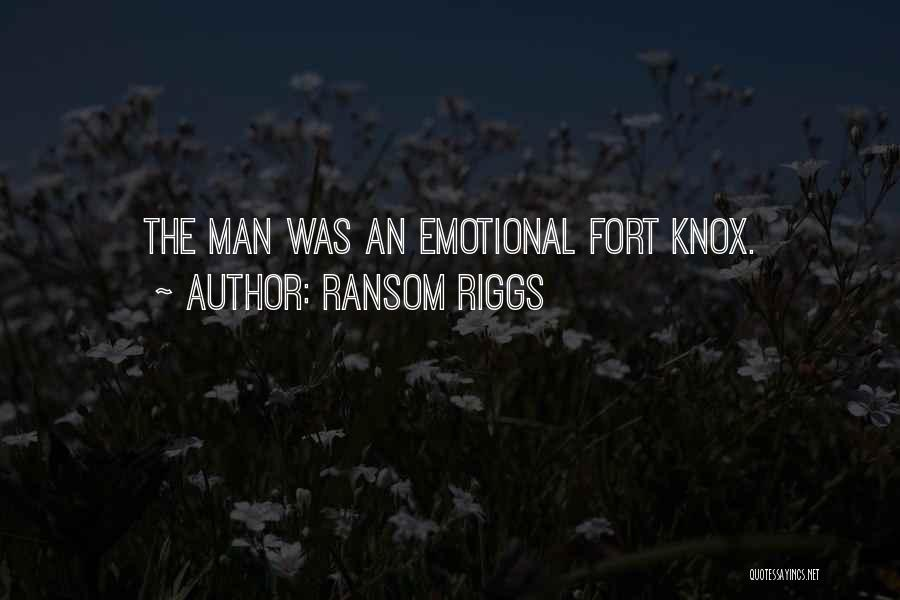 Emotional Best Man Quotes By Ransom Riggs