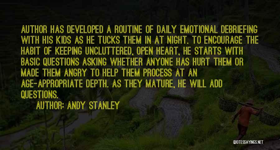Emotional Depth Quotes By Andy Stanley