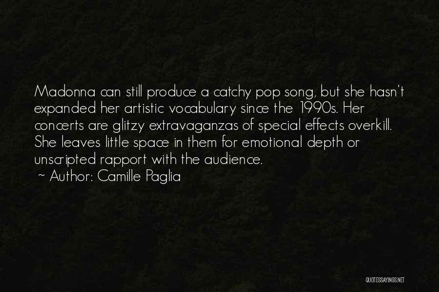 Emotional Depth Quotes By Camille Paglia