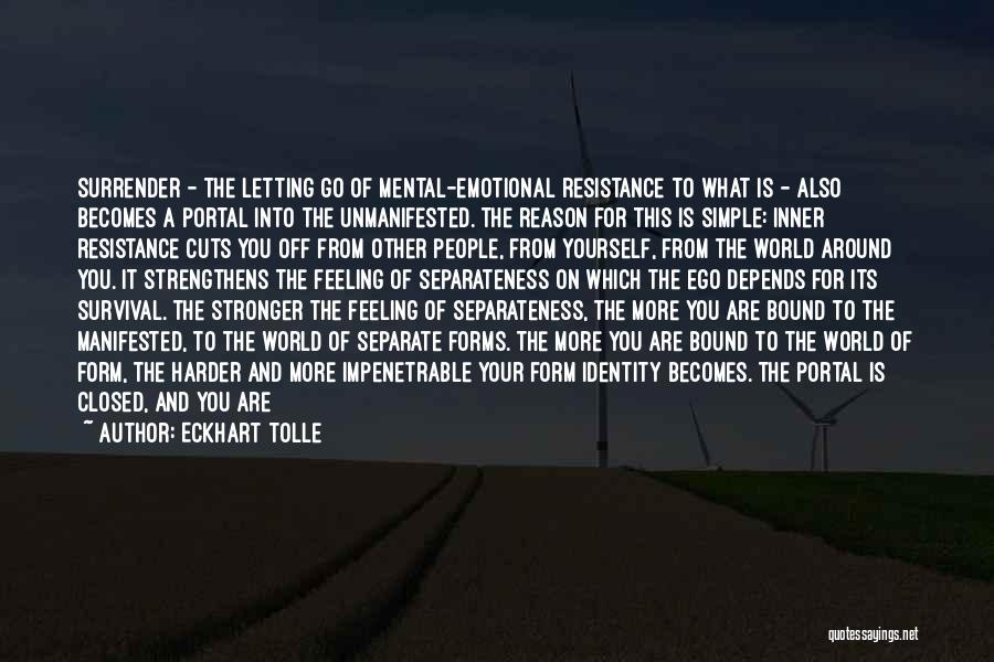 Emotional Depth Quotes By Eckhart Tolle