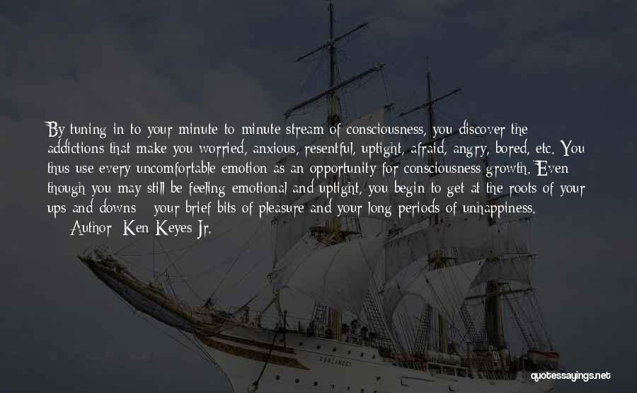 Emotional Growth Quotes By Ken Keyes Jr.