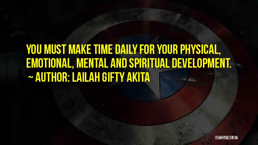 Emotional Growth Quotes By Lailah Gifty Akita