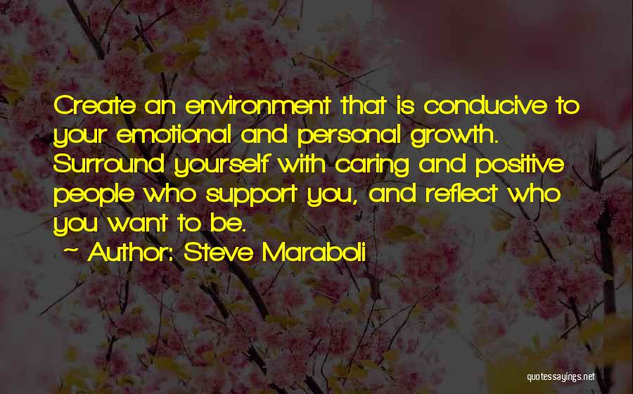 Emotional Growth Quotes By Steve Maraboli