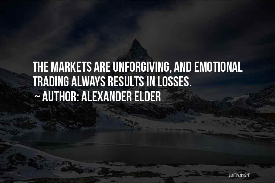 Emotional Loss Quotes By Alexander Elder