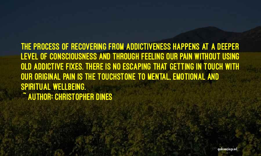 Emotional Loss Quotes By Christopher Dines