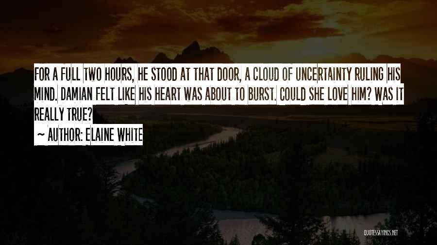 Emotional Loss Quotes By Elaine White