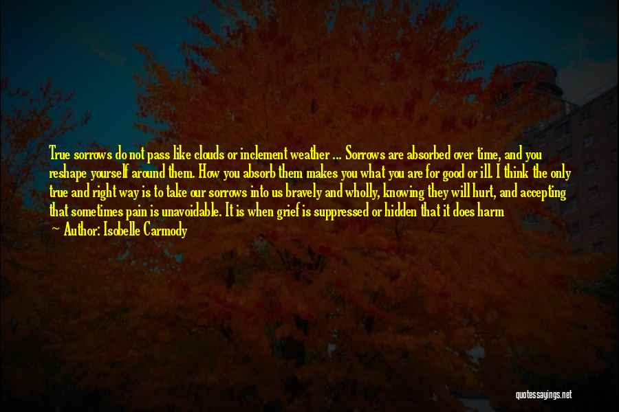 Emotional Pain Quotes By Isobelle Carmody