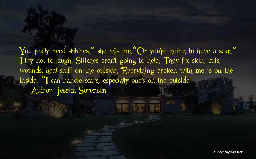 Emotional Pain Quotes By Jessica Sorensen