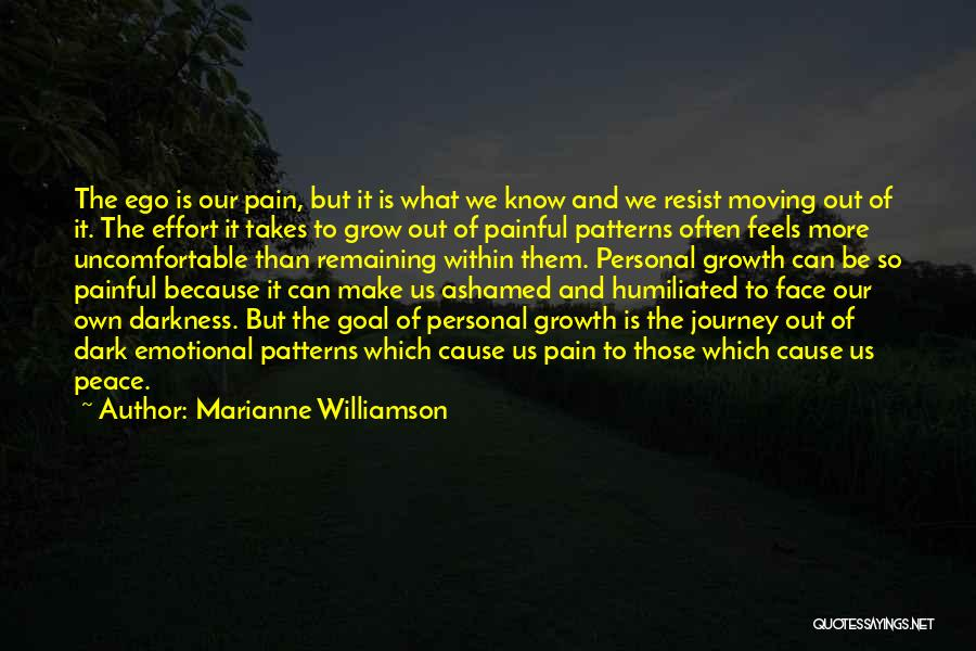 Emotional Pain Quotes By Marianne Williamson