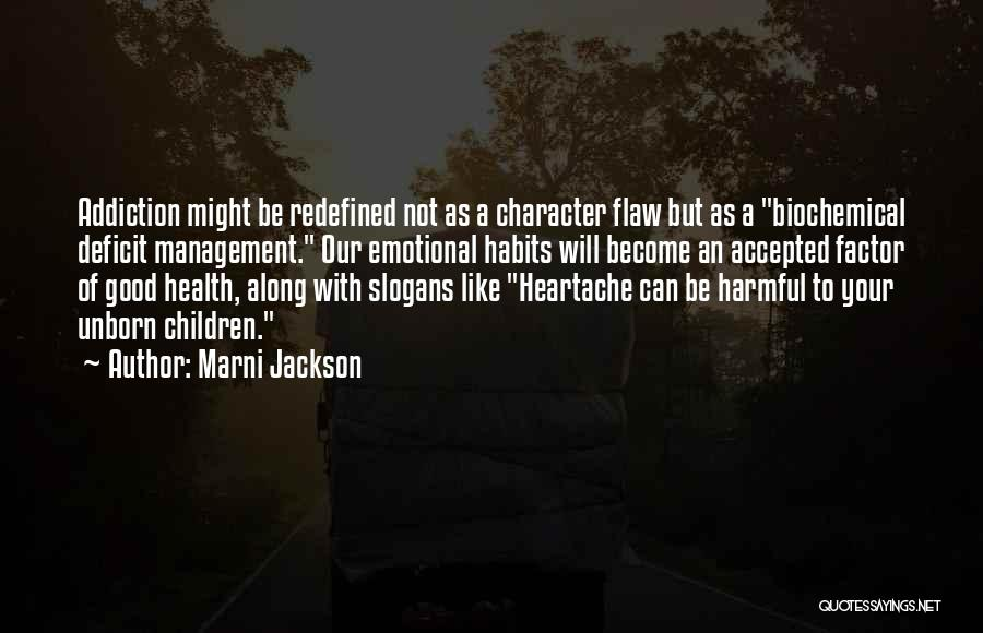 Emotional Pain Quotes By Marni Jackson