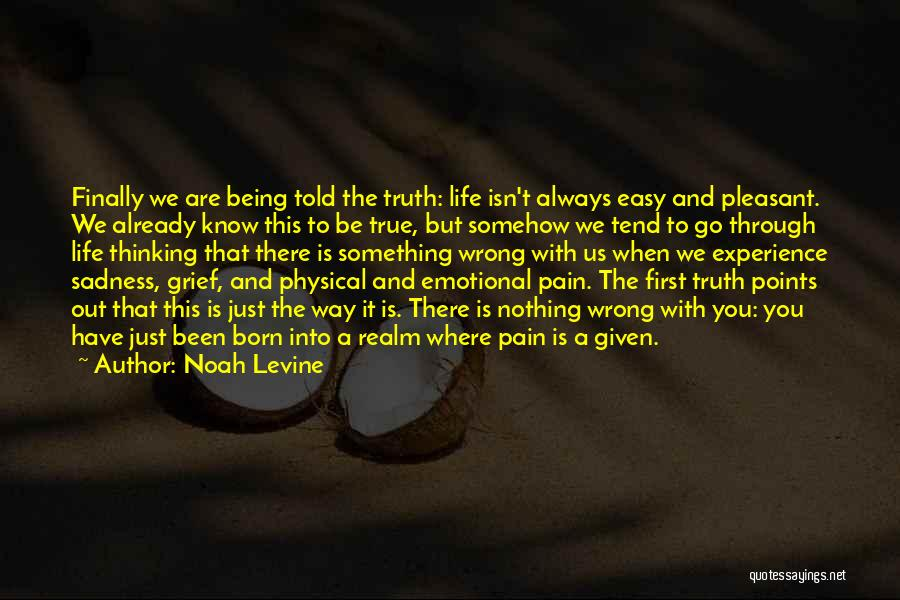 Emotional Pain Quotes By Noah Levine