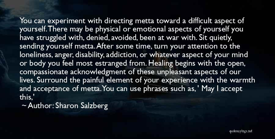 Emotional Pain Quotes By Sharon Salzberg
