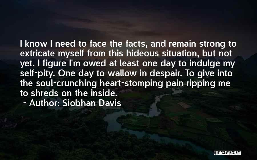 Emotional Pain Quotes By Siobhan Davis