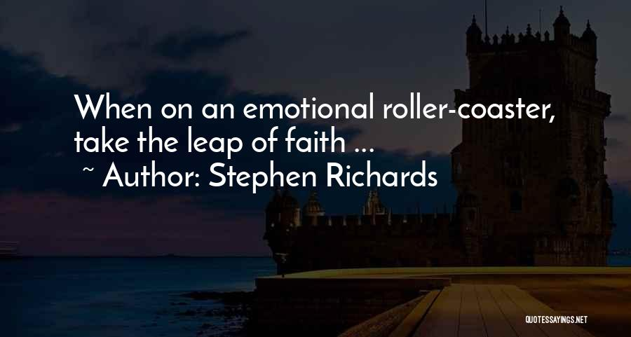 Emotional Pain Quotes By Stephen Richards