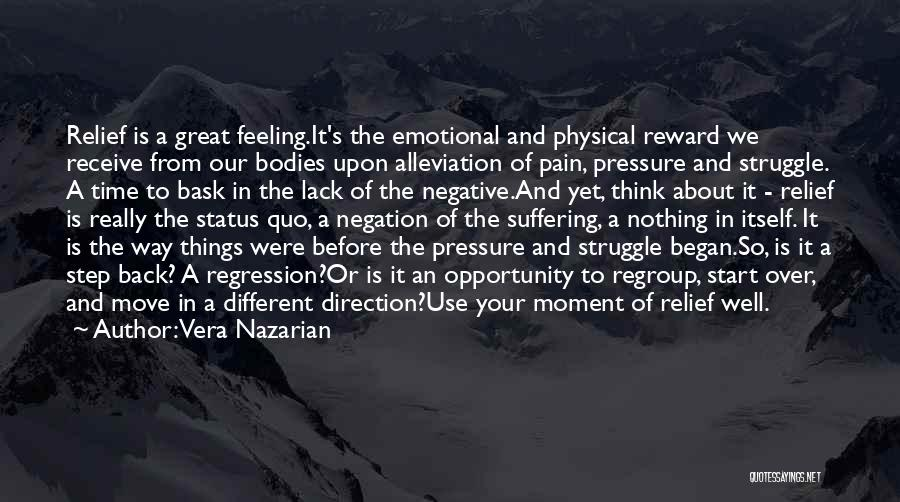 Emotional Pain Quotes By Vera Nazarian