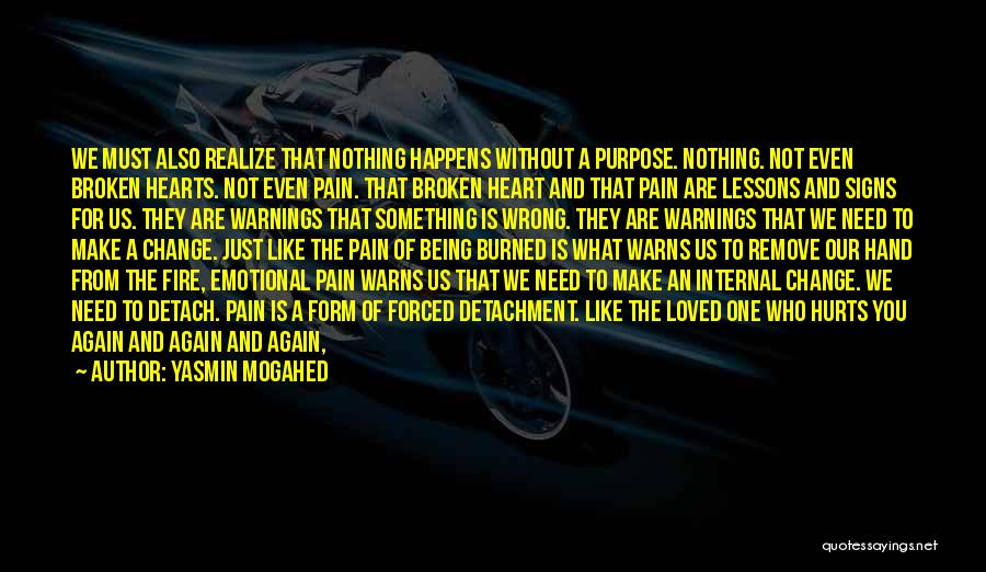 Emotional Pain Quotes By Yasmin Mogahed