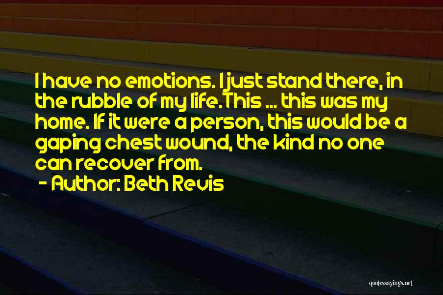 Emotionless Quotes By Beth Revis