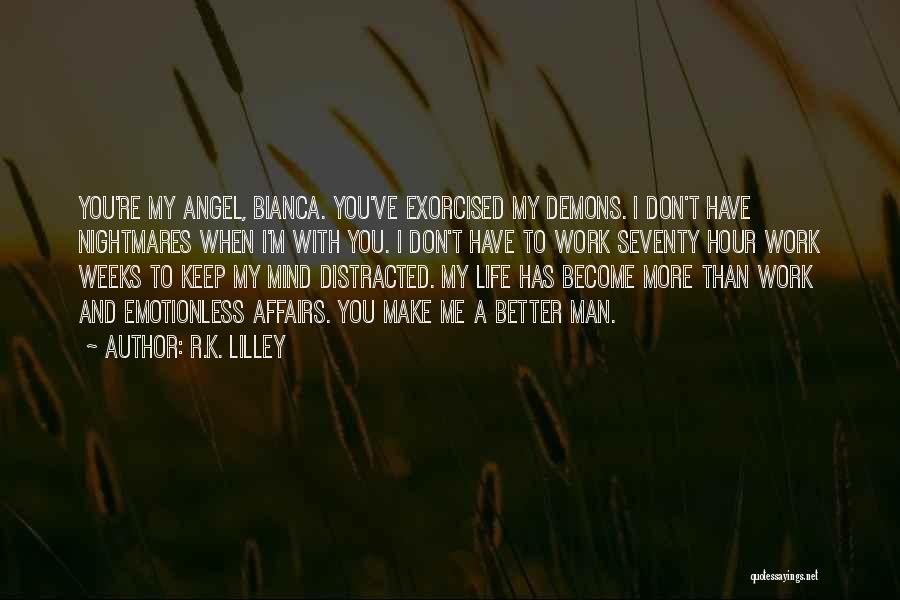 Emotionless Quotes By R.K. Lilley