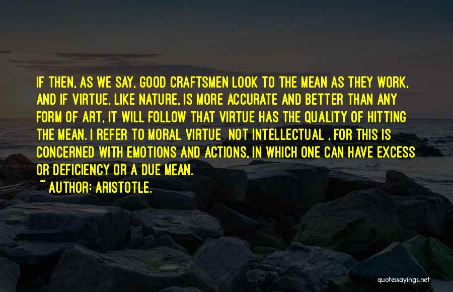 Emotions And Art Quotes By Aristotle.