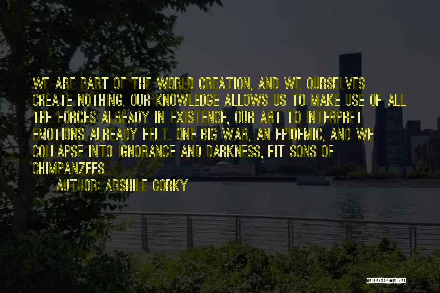 Emotions And Art Quotes By Arshile Gorky