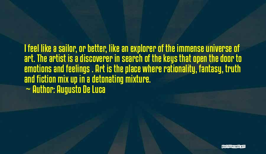 Emotions And Art Quotes By Augusto De Luca