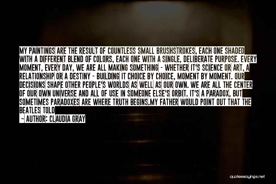 Emotions And Art Quotes By Claudia Gray