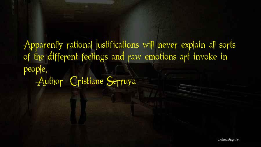 Emotions And Art Quotes By Cristiane Serruya
