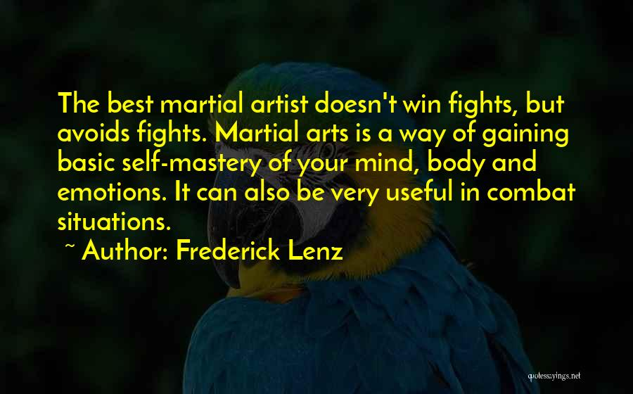 Emotions And Art Quotes By Frederick Lenz
