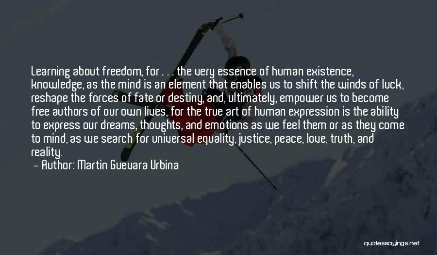 Emotions And Art Quotes By Martin Guevara Urbina