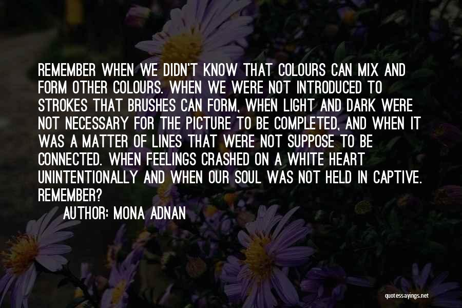 Emotions And Art Quotes By Mona Adnan