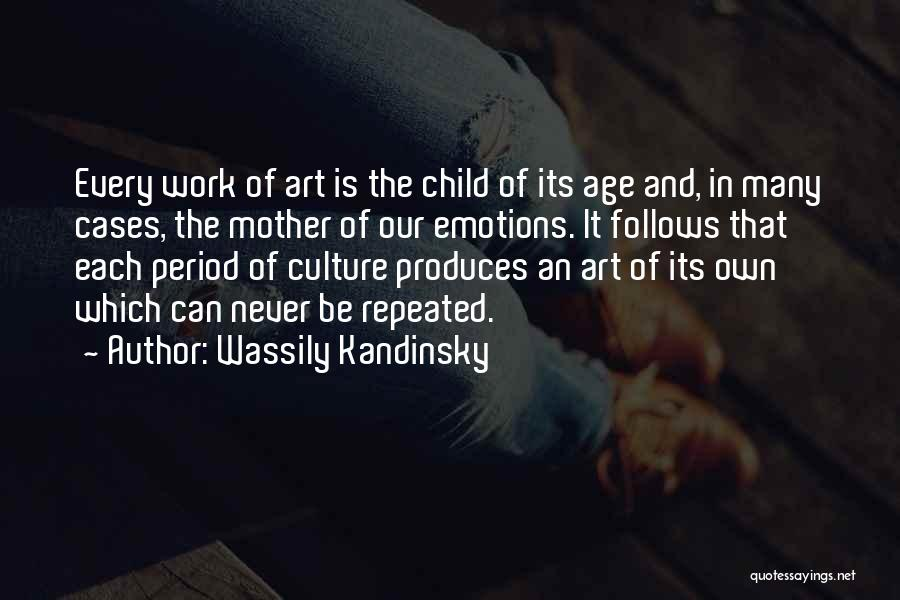 Emotions And Art Quotes By Wassily Kandinsky