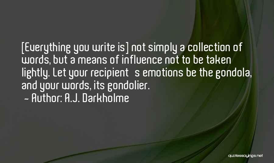 Emotions And Communication Quotes By A.J. Darkholme