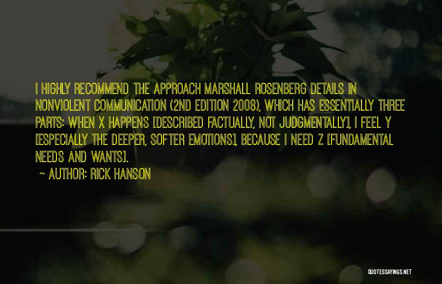 Emotions And Communication Quotes By Rick Hanson