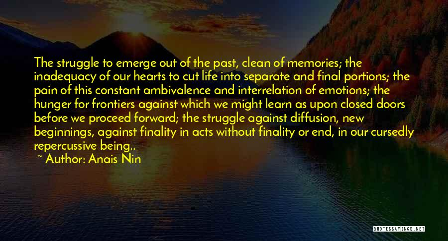 Emotions And Memories Quotes By Anais Nin
